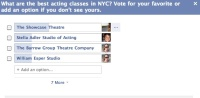 Poll: The Best Acting Class in New York?
